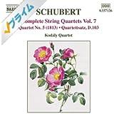 Schubert: String Quartets (Complete), Vol. 7