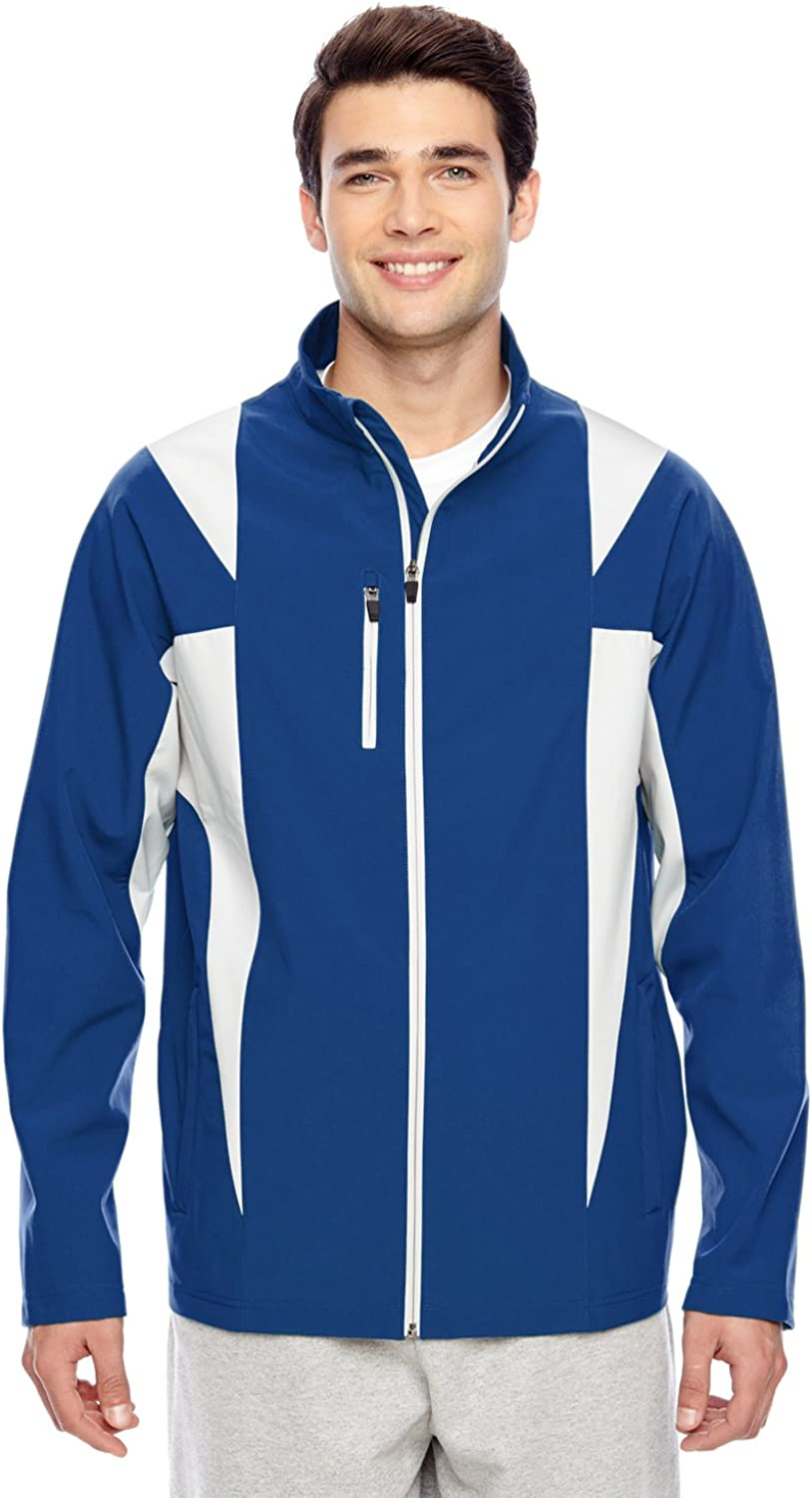 Team 365 Mens Icon Colorblock Soft Shell Jacket