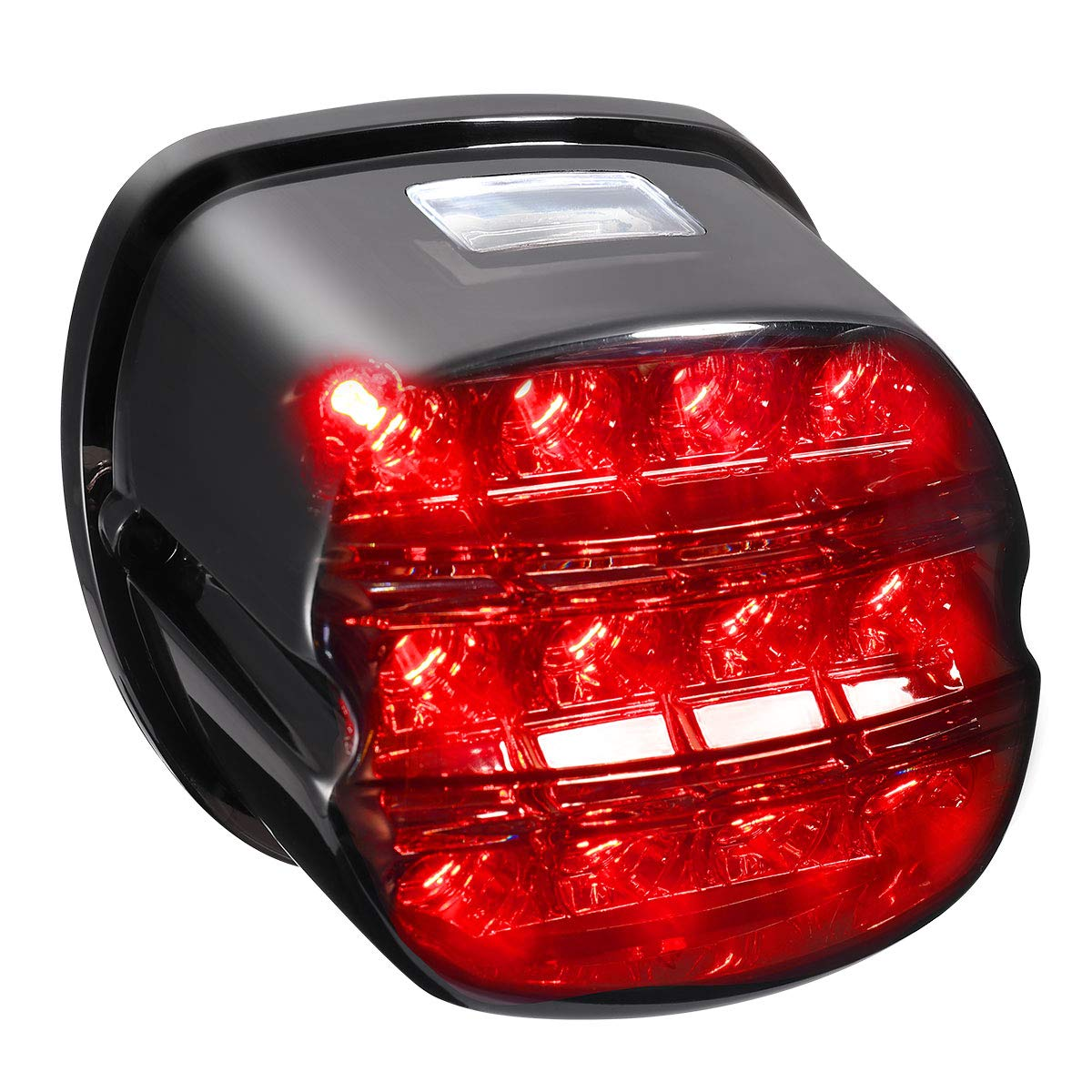 Smoked LED Rear Tail Light Taillight Braking Lamp for Electra Street Glide Tri Glide Road King Dyna Softail Fat Boy Sportster Aftermarket Harley Davidson Parts