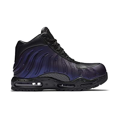 b6073b98b62 Nike Mens Air Max Foamdome Boots Varsity Purple Black 843749-500 Size 8