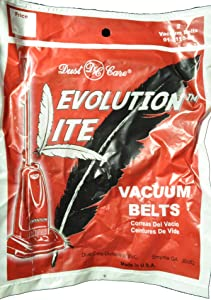 Evolution Lite DCC-658 Vacuum Cleaner Belts 01-3110-01