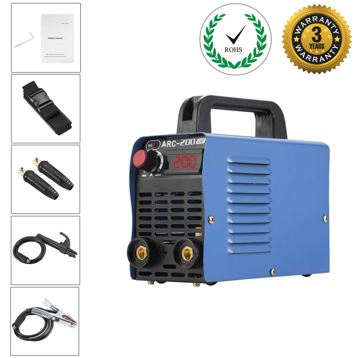 4. Hiwension ARC 200 Welding Machine IGBT Inverter Welder
