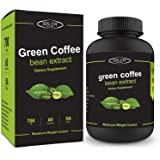 Sinew Nutrition Green Coffee Beans Extract 700mg (60 Pure Veg Capsules), 100 % Pure & Natural Weight Management & Appetite Suppressant Supplement