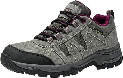 riemot Zapatillas Trekking para Hombre Mujer, Zapatos de Senderismo Calzado de Montaña Escalada Aire Libre Impermeable Ligero Antideslizantes Zapatillas de Trail Running, EU36-46: Amazon.es: Zapatos y complementos