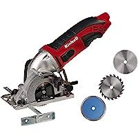 Einhell Mini-cirkelsåg TC-CS 860 Kit (450 W, max 23 mm, sågklinga Ø 85 mm, sugadapter, rivstängsel, 2 sågklingor, 1…