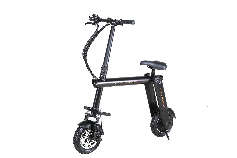 Joyor Mbike Bicicleta/Patinete Eléctrico Ecológico y Plegable, Negro, Talla Única: Amazon.es: Deportes y aire libre