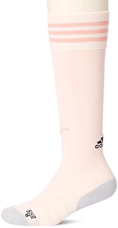 ad01b383535 Image Unavailable. Image not available for. Color: adidas 2018-2019 Man Utd  Away Socks (Pink)