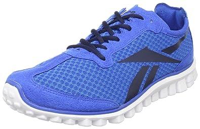 timeless design 9d37e 8f7b7 Reebok Men s Realflex Runner Running Shoe,Blue Navy White,6.5 ...