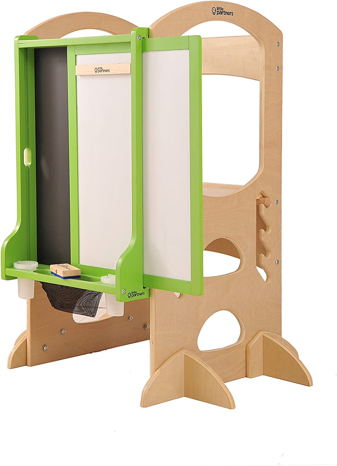 Add-on for the Original Learning Tower Little Partners Learn N Share Easel Green