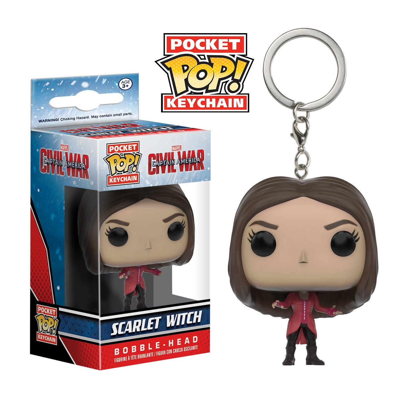 Pocket POP! Keychain - Captain America CW: Scarlet Witch