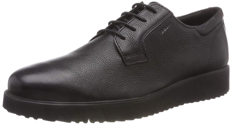 Geox U New Pluges E, Zapatos de Cordones Derby para Hombre