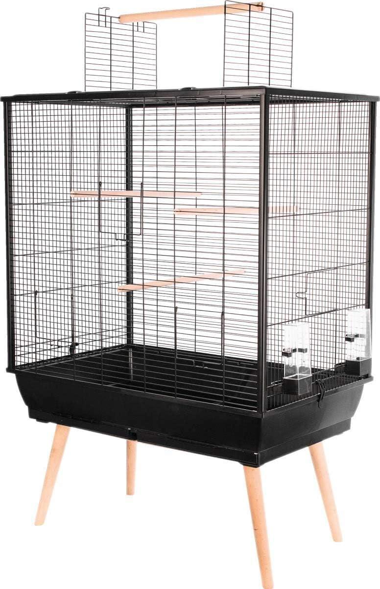 Zolux Gabbia Neo Jill per uccelli domestici con piedi