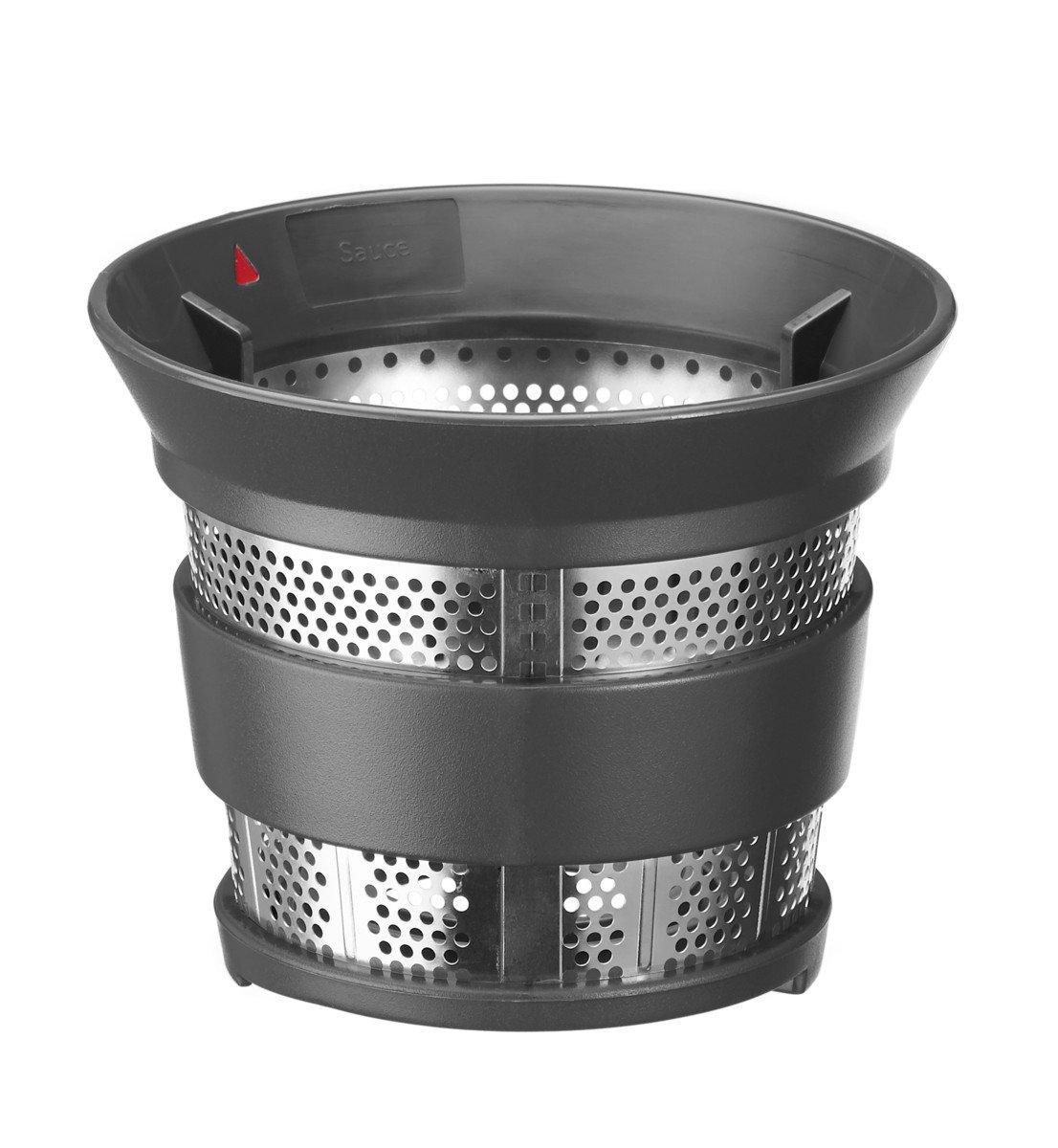KitchenAid 5KSM1JA - Exprimidor (Exprimidor lenta, Plata, 1 L, De plástico, Acero inoxidable, Titanio): Amazon.es: Hogar