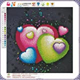 Diamond Painting,5d Diamond Painting,Rhinestone Pasted Embroidery Painting-Diamond Painting Accessories-Decorating Cabinet Table Stickers Crystal Pictures For Study Room,Flower