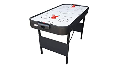 Gamesson tiburón Plegable Mesa de Air Hockey – Negro/Blanco, 4 ft ...