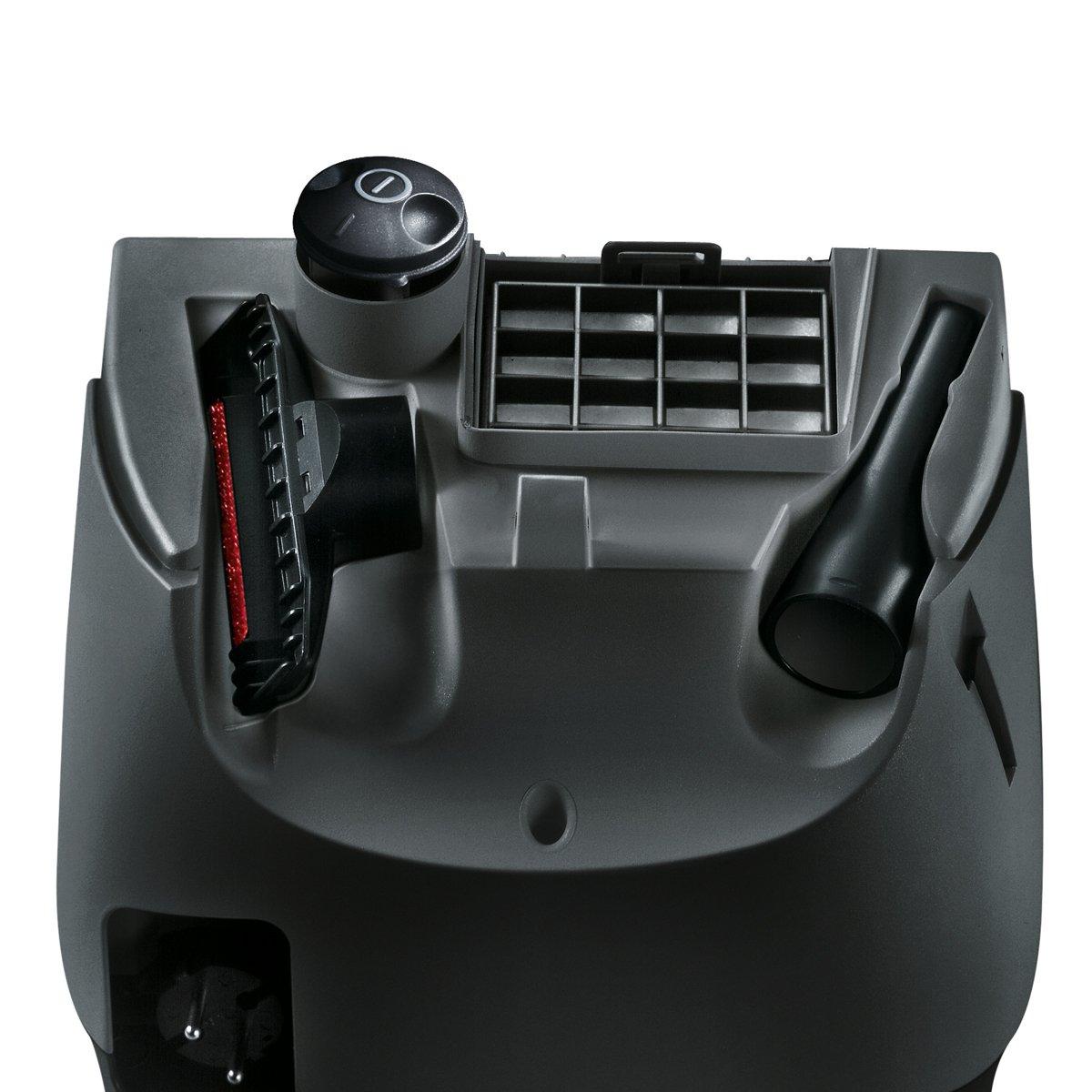 Aspirapolvere Z 3.0 di Siemens motore highPower giunti e tappezzeria VSZ3B212 sistema powerSecure inserti supplementari a ugello per pavimento nero /con sacchetto