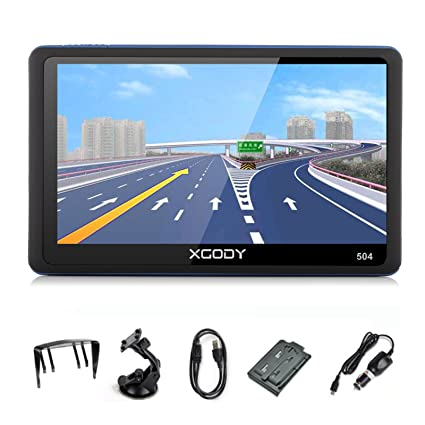 Amazoncom Xgody Inch Portable Car Truck GPS With Sun Shade - Gps amazon com
