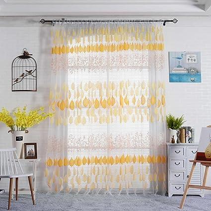 Rideaux Salon Design Moderne Kolylong Solide Couleur Rideaux ...