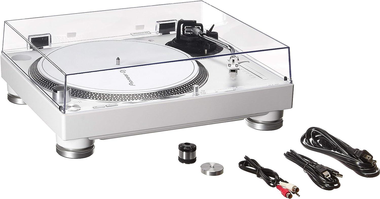 Amazon.com: Pioneer Pro DJ Blanco (PLX-500-W) (Renovado ...