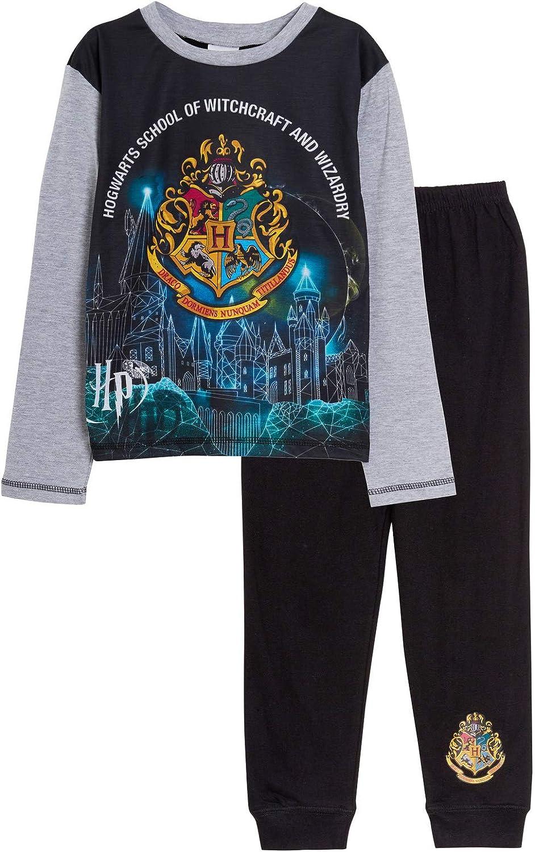 Pijama de longitud completa de Harry Potter para niños y niñas, unisex Hogwarts