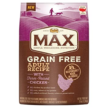 Amazon nutro max grain free adult recipe with farm raised nutro max grain free adult recipe with farm raised chicken dry dog food 1 forumfinder Image collections