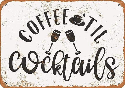 Kia Haop Coffee Til Cocktails Metal Fender Cartel De Chapa ...