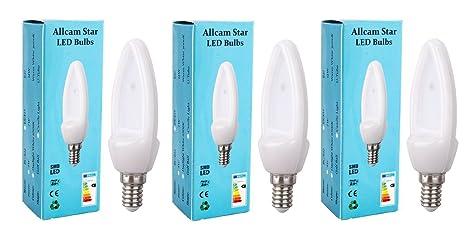 Warm White Cool White /& Daylight Energy Saver CFL Globes in E14 B15 B22 E27