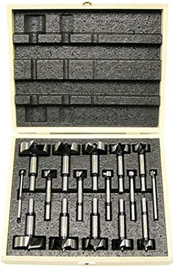 Freud FB-104 1//4-inch to 1-inch 4-Piece Diablo Forstner Bit Set