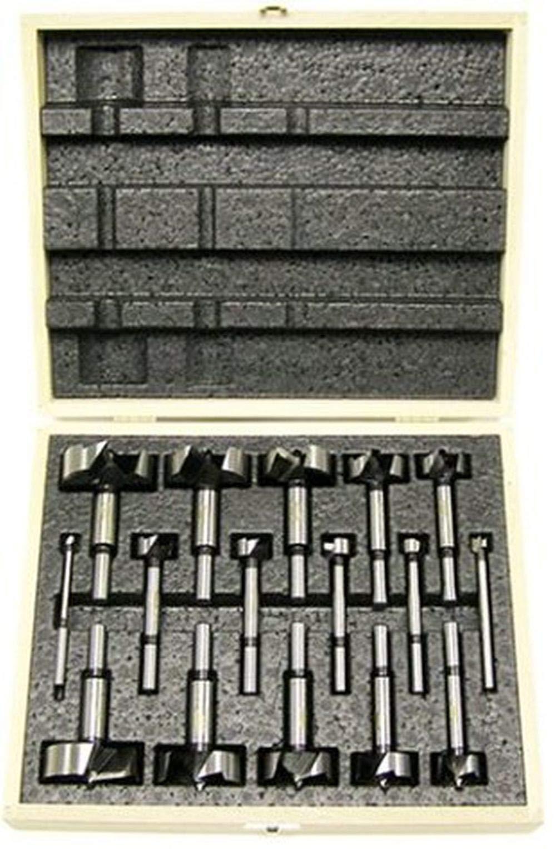 1//4 to 1-3//8 Dia. Freud Seven Piece Carbide Forstner Drill Bit Set FC-107