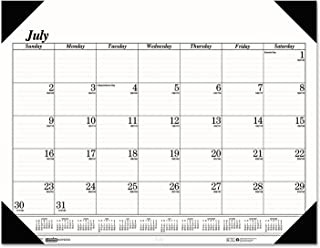 product image for House of Doolittle 2017-2018 Monthly Desk Pad Calendar, Academic, Economy, 22 x 17 Inches, July - August (HOD12502-18)
