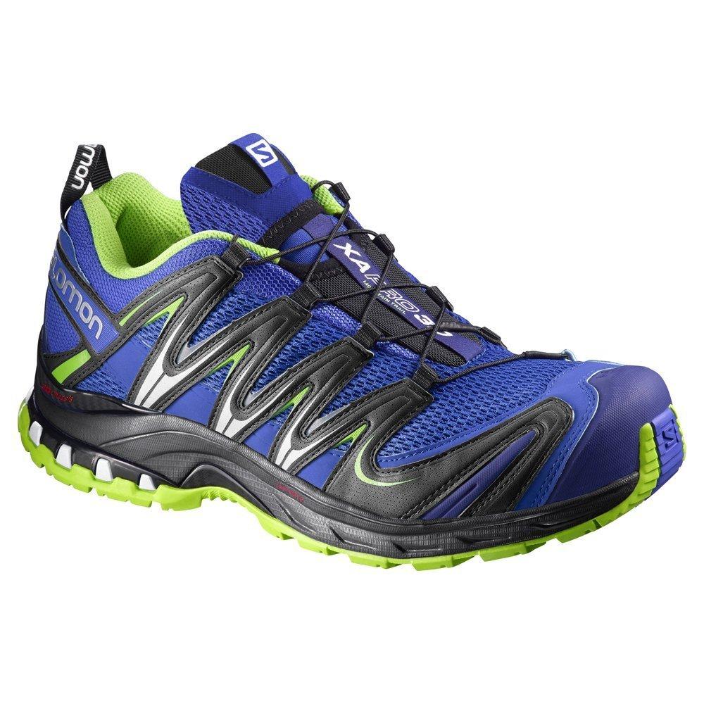Salomon L37920700, Zapatillas de Trail Running para Hombre, Azul (Cobalt/Process Blue/Granny Green), 49 1/3 EU: Amazon.es: Zapatos y complementos