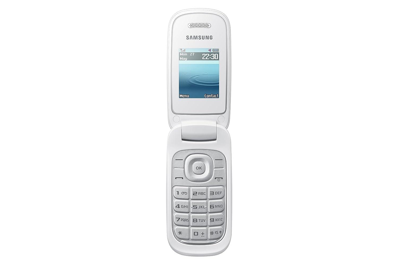 Samsung e1270 black price in india buy samsung e1270 black online on - Samsung E1270 Uk Sim Free Mobile Phone White Amazon Co Uk Electronics