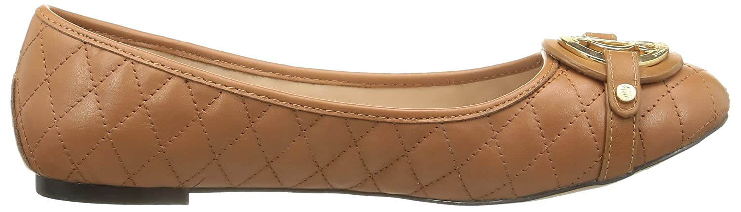 Theodora Q - Ballerines, Femme, Brown (Cognac Leather), Taille 40Juicy Couture