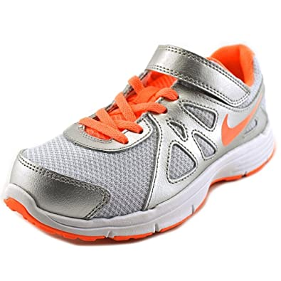 6a726b43ae Amazon.com   Nike Baby Girl's Revolution 2 Athletic Shoes Grey   Sneakers