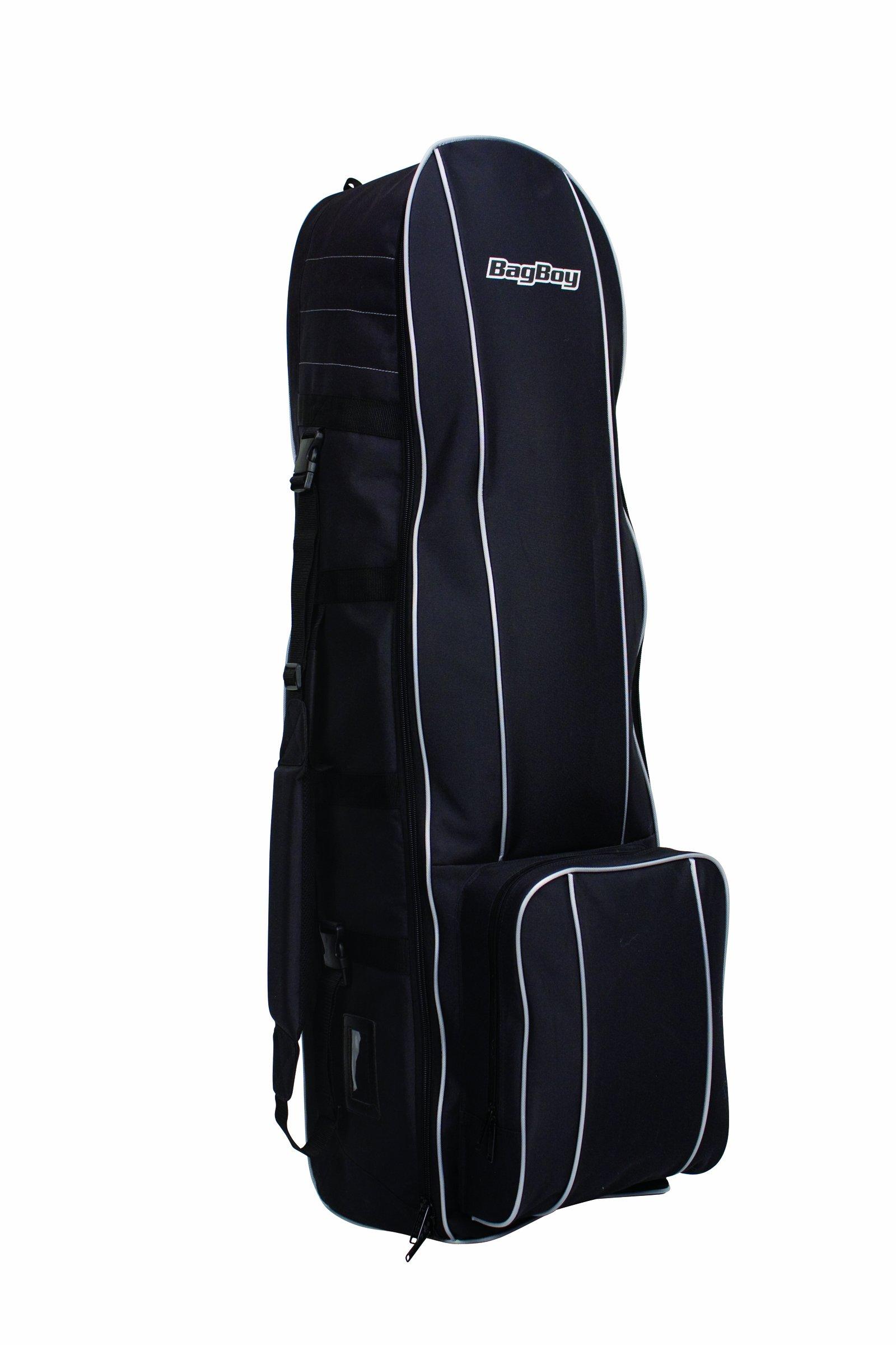 Bag Boy T-300 Travel Cover (Black/Silver)