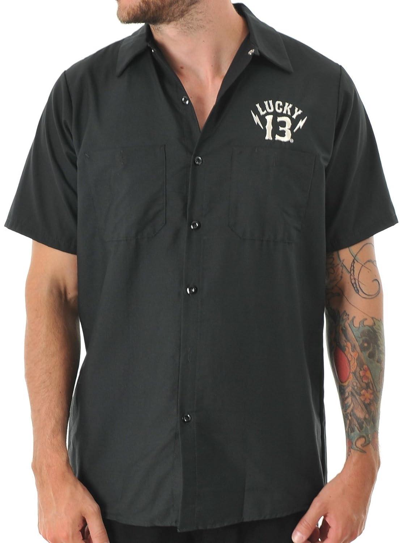 Lucky 13 Black Black Sin Workshirt