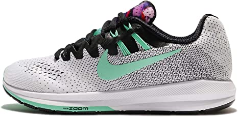 Nike Air Zoom Structure 20 Solstice Unidad Zapatos Mujer, Negro/Verde: Amazon.es: Deportes y aire libre