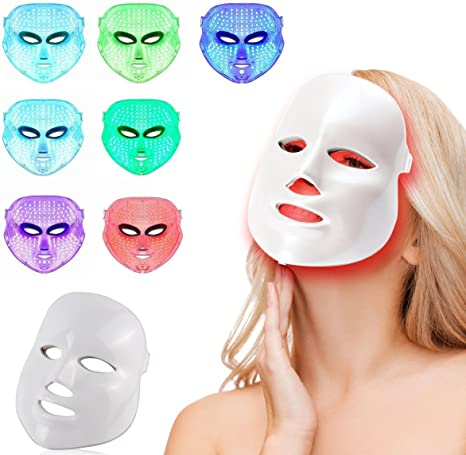 masque facial led 7 couleur