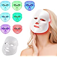 LED Photon Therapy 7 Colors Light Treatment Facial Beauty Skin Care Rejuvenation Phototherapy Mask Beauty Face Care Anti…