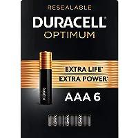 Duracell Optimum AAA Batteries | 6 Count | Long Lasting Triple A Battery | Alkaline...