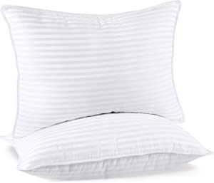 Utopia Bedding Hotel Collection Premium Pillow (2-Pack) - Luxury Plush Bed Pillows - Queen Size 20 x 28 Inches - Cotton Blend Pillows for Sleeping