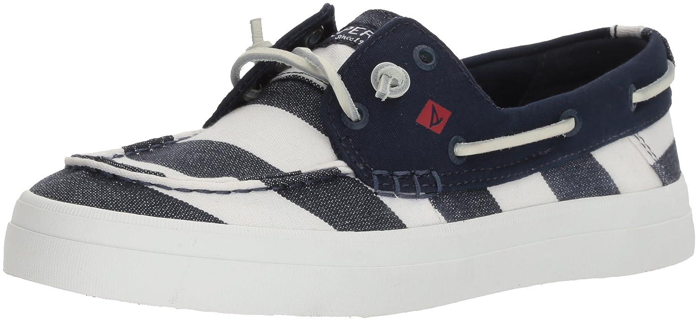 Sperry Top-Sider Women's Crest Resort Breton Sneaker B072KHYB8N 8 B(M) US Navy/White