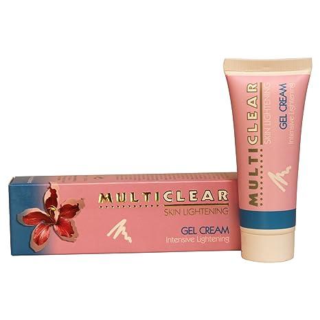 Gel Crema Aclarador Intensivo MULTICLEAR – 40ML. Crema antimanchas Ayuda a combatir las manchas oscuras