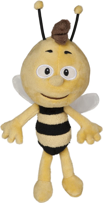 Studio 100 MEMB00000040 Abeja de juguete Felpa Negro, Amarillo juguete de peluche - Juguetes de peluche (Abeja de juguete, Negro, Amarillo, Felpa, 4 año(s), 200 mm) , color/modelo surtido