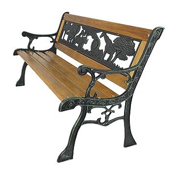 Cadre en Fer pour enfant en bois banc de jardin design animal ...