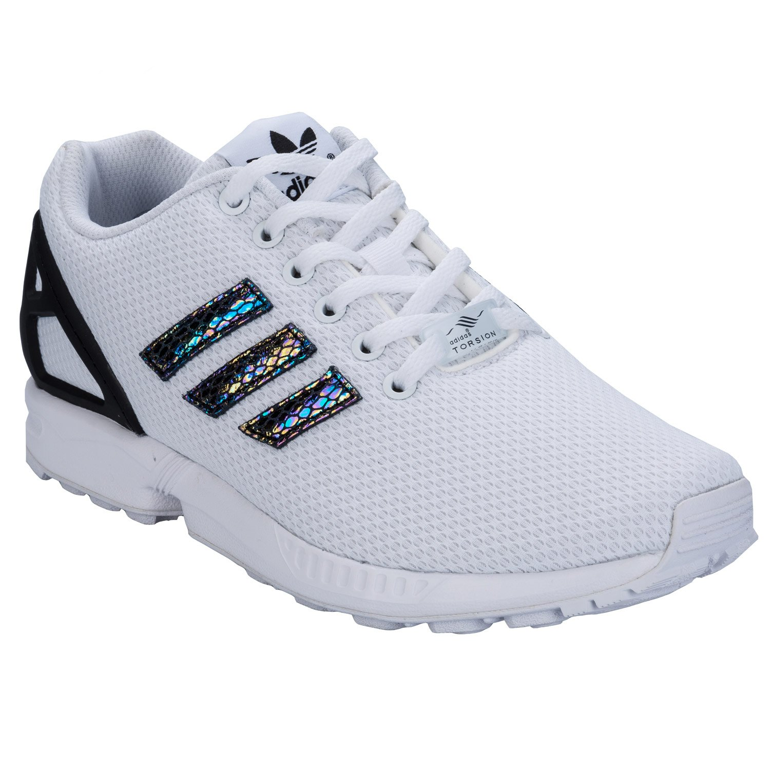 girls adidas flux trainers
