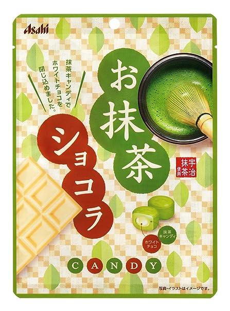Grupo de alimentos Asahi t? verde bolsas de dulces de chocolate 84gX6