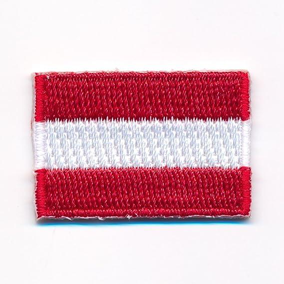 40 X 25 Mm Österreich Flagge Austria Flag Wien Graz Aufnäher Aufbügler 0914 A Auto