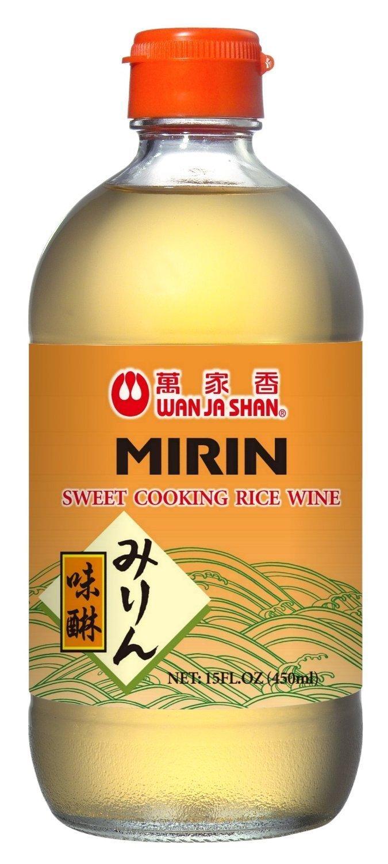 Wan Ja Shan Mirin Sweet Cooking Rice Wine 15 Oz (Pack of 3) by Wan Ja Shan