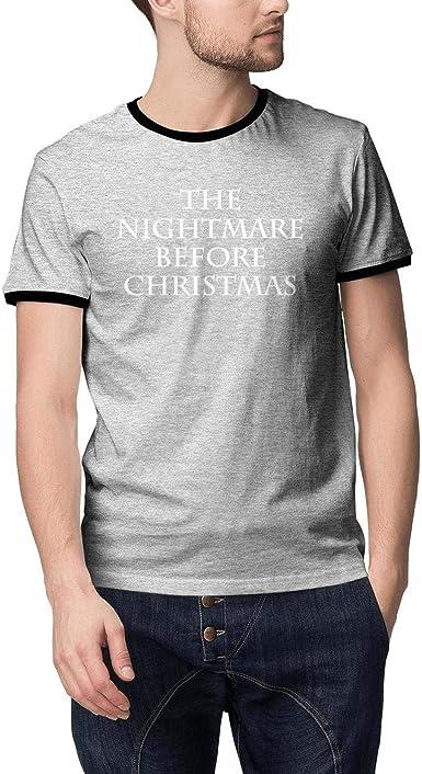 Nightmare Before Christmas Tuxedo Black Men/'s T-Shirt New